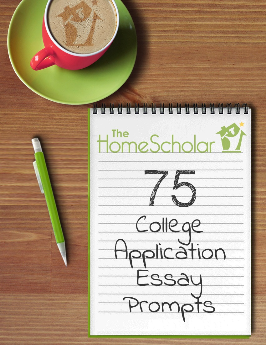 [Free Download] 75 College Application Essay Prompts