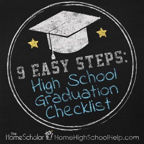 Homeschool Graduation Checklist