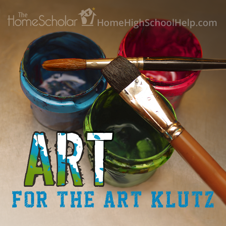 #Homeschool Art For The Art Klutz @TheHomeScholar