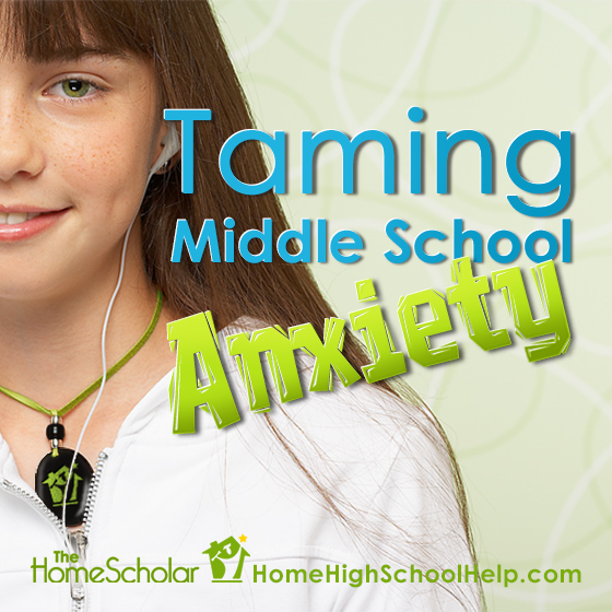 Taming Middle School Anxiety