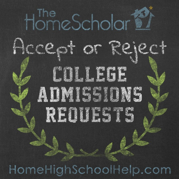 Accept or Reject College Admissions Requests