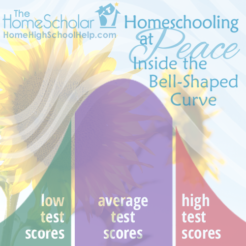 Homeschooling at Peace Inside the Bell-Shaped Curve #Homeschool @TheHomeScholar