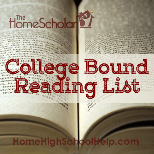 College Bound Reading List