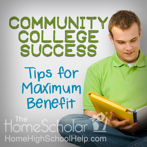 Community College Success: How to Earn A's in Community College #Homeschool @TheHomeScholar