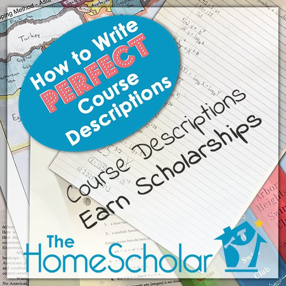 Course Descriptions Earn Scholarships