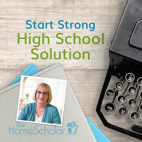 Solution for Homeschooling High School