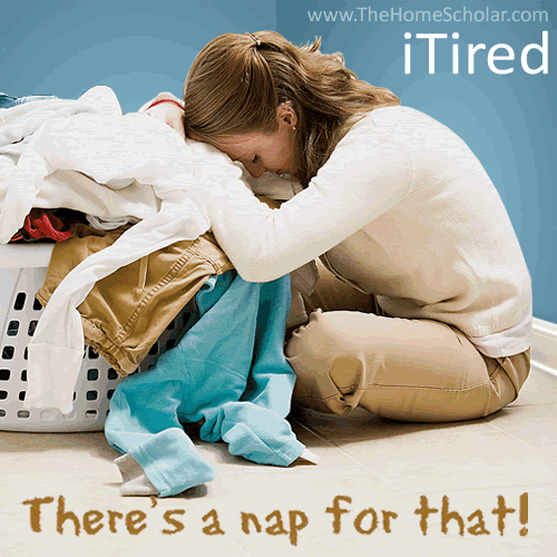 iTired: Dealing with #Homeschool Fatigue @TheHomeScholar