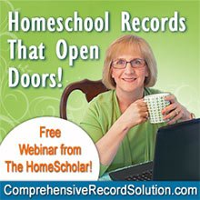 FREE Webinar! Homeschool Records that Open Doors!