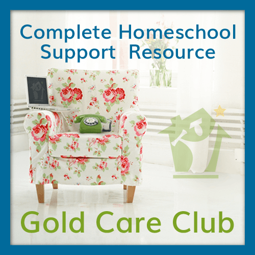 The HomeScholar Gold Care Club:The Complete, Personalized Homeschool Support You Need