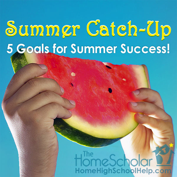 Summer provides an opportunity to work on tasks that were put off during the school year. #Homeschool @TheHomeScholar