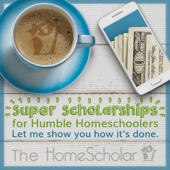 Super Scholarships for Humble Homeschoolers---Free Class! #Homeschool @TheHomescholar