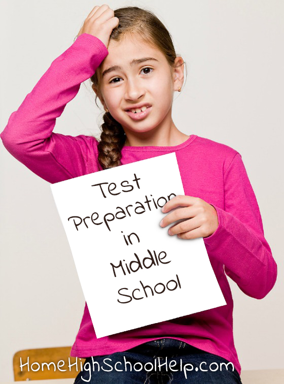 Test Preparations in Middle School @TheHomeScholar