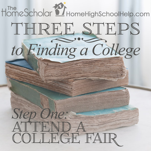Three Steps to Finding a College #Homeschool @TheHomeScholar